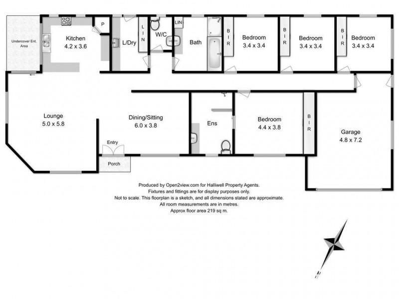 230 Grandview Drive, Spreyton TAS 7310 Floorplan