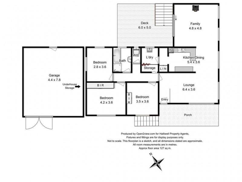 3 Mungala Crescent, Miandetta TAS 7310 Floorplan