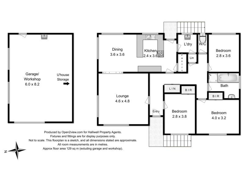 1 Fordham Drive, Devonport TAS 7310 Floorplan