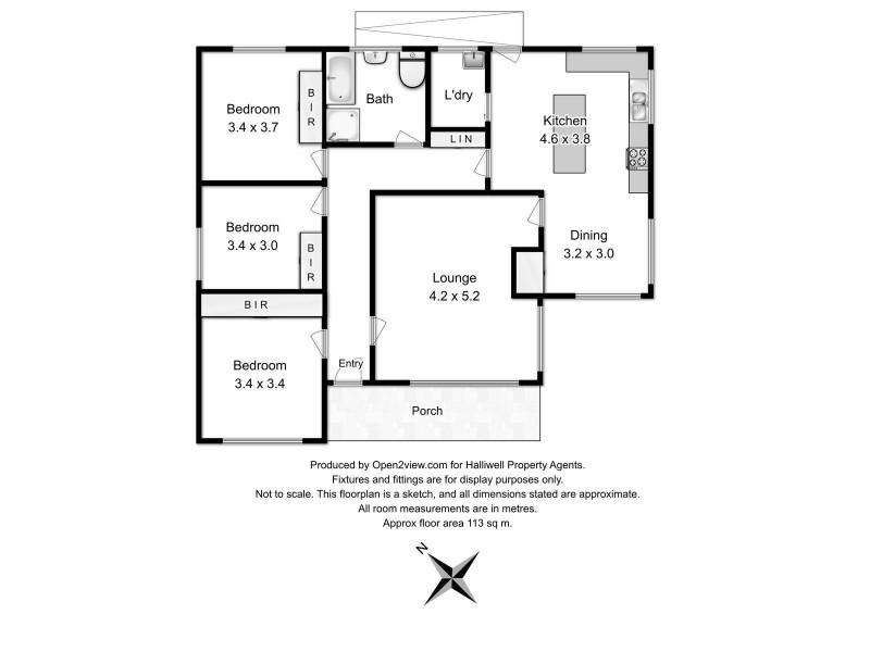 7 Pindari Court, Miandetta TAS 7310 Floorplan