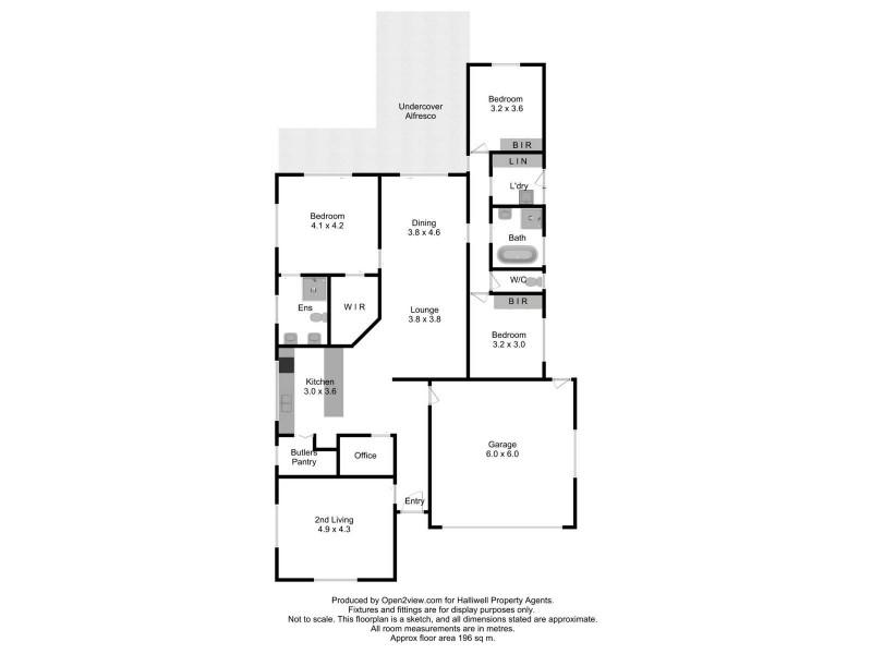 37  Swilkin Drive, Spreyton TAS 7310 Floorplan