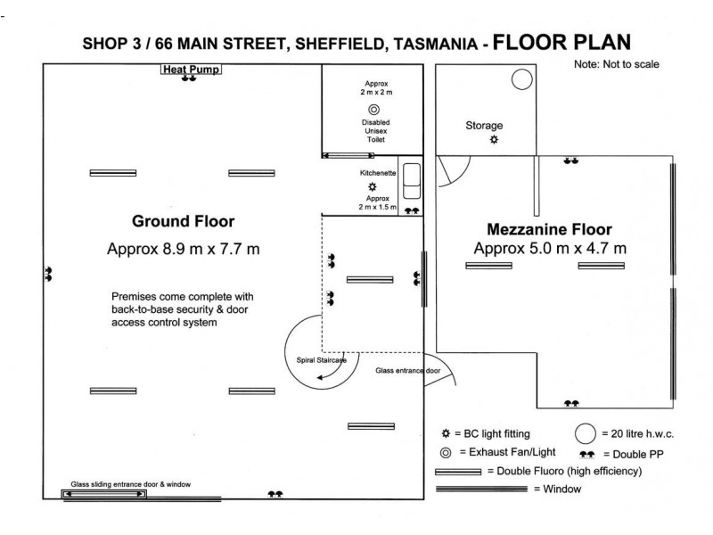3/66 Main Street, Sheffield TAS 7306 Floorplan