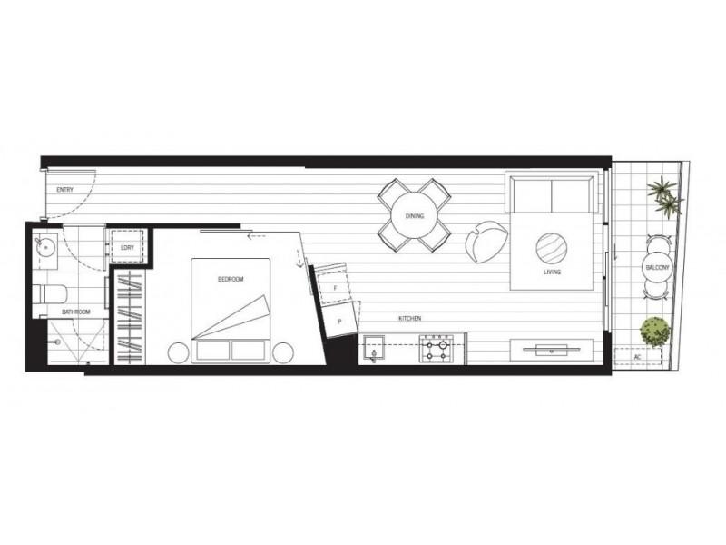 125/4 Acacia Place, Abbotsford VIC 3067 Floorplan