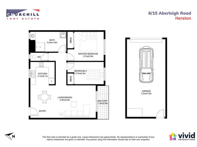 6/15 Aberleigh Road, Herston QLD 4006 Floorplan