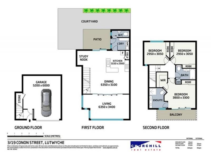 3/19 Conon Street, Lutwyche QLD 4030 Floorplan