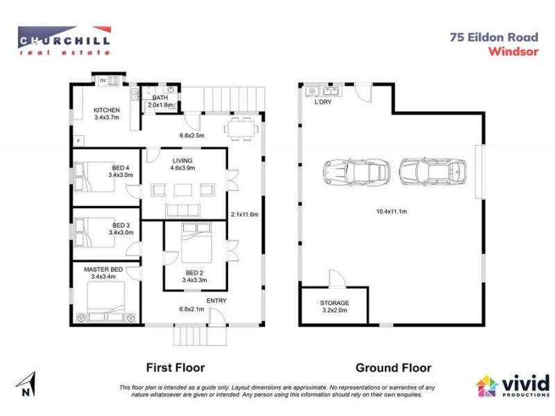 75 Eildon Road, Windsor QLD 4030 Floorplan
