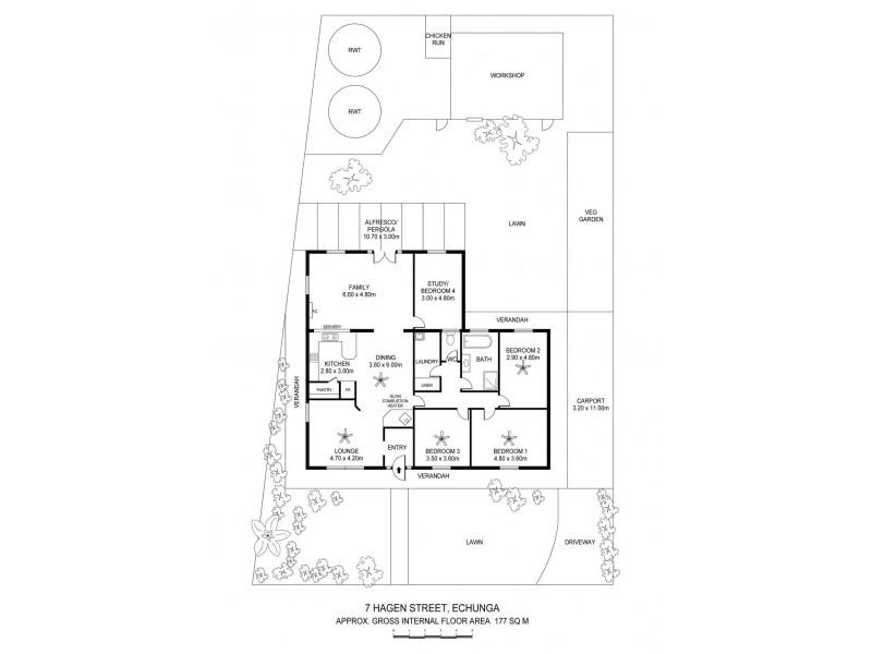7 Hagen Street, Echunga SA 5153 Floorplan