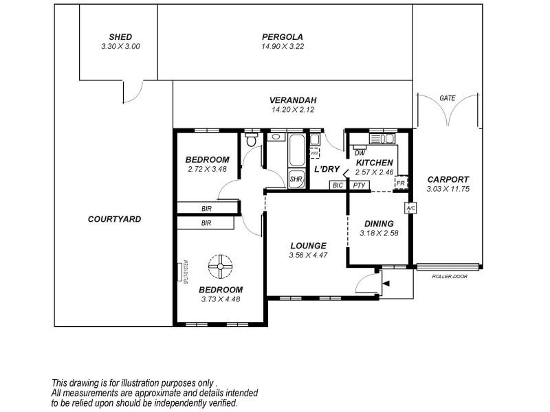 13/18 Washington Crescent, Findon SA 5023 Floorplan