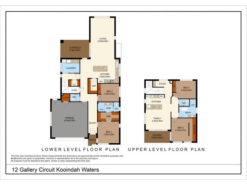 12 Gallery Circuit, Wyong NSW 2259 Floorplan
