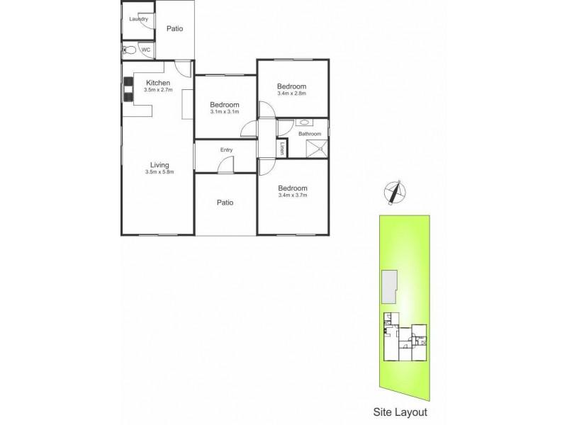 81 Montgomery Street, Argenton NSW 2284 Floorplan