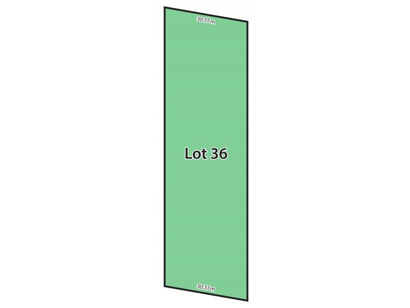 Lot 36 Bull Creek Road, Ashbourne SA 5157 Floorplan
