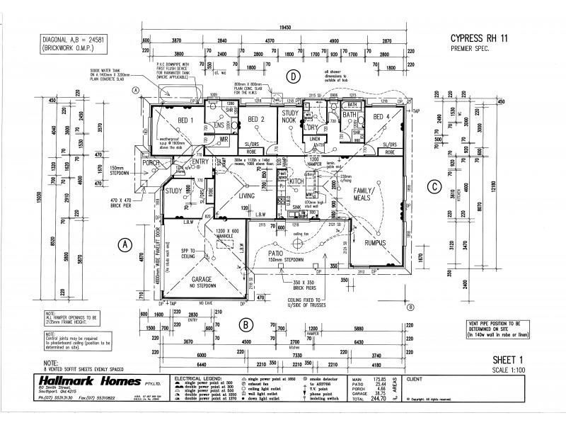 33 Byng Road, Birkdale QLD 4159 Floorplan