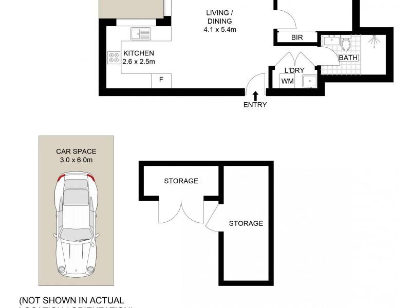 23/14-16 Virginia Street, North Wollongong NSW 2500 Floorplan
