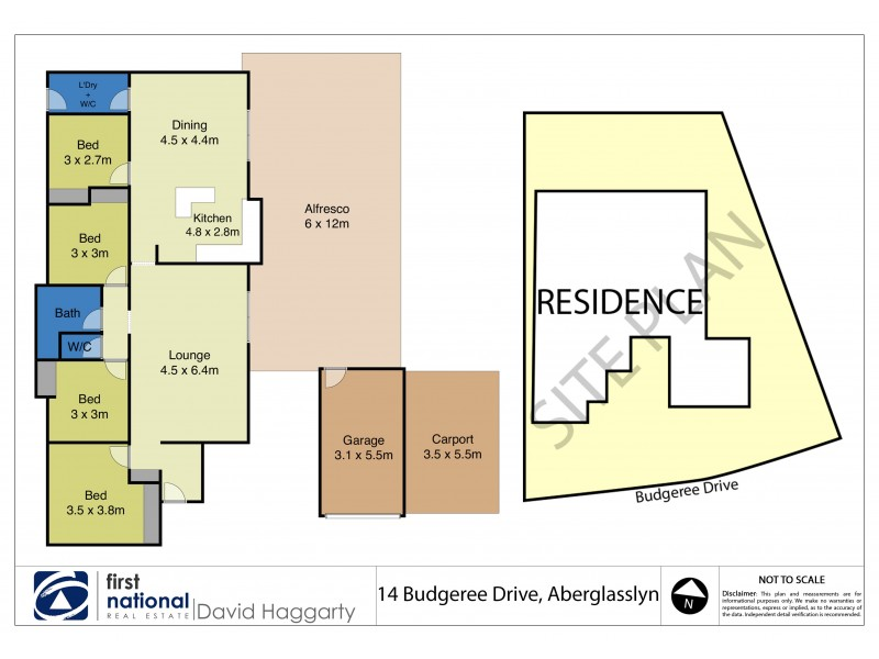 14 Budgeree Drive, Aberglasslyn NSW 2320 Floorplan
