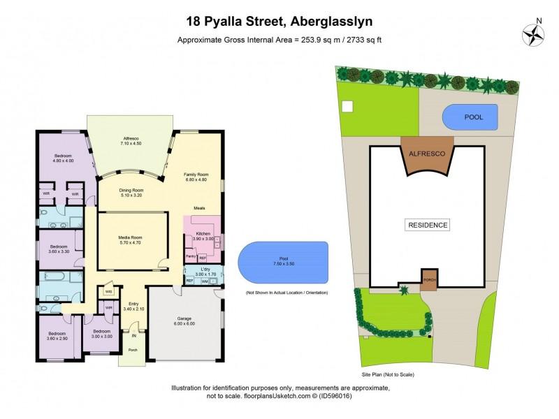 18 Pyalla Avenue, Aberglasslyn NSW 2320 Floorplan