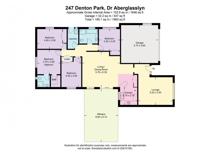 247 Denton Park Drive, Aberglasslyn NSW 2320 Floorplan