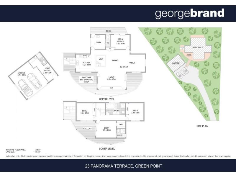 23 Panorama Terrace, Green Point NSW 2251 Floorplan