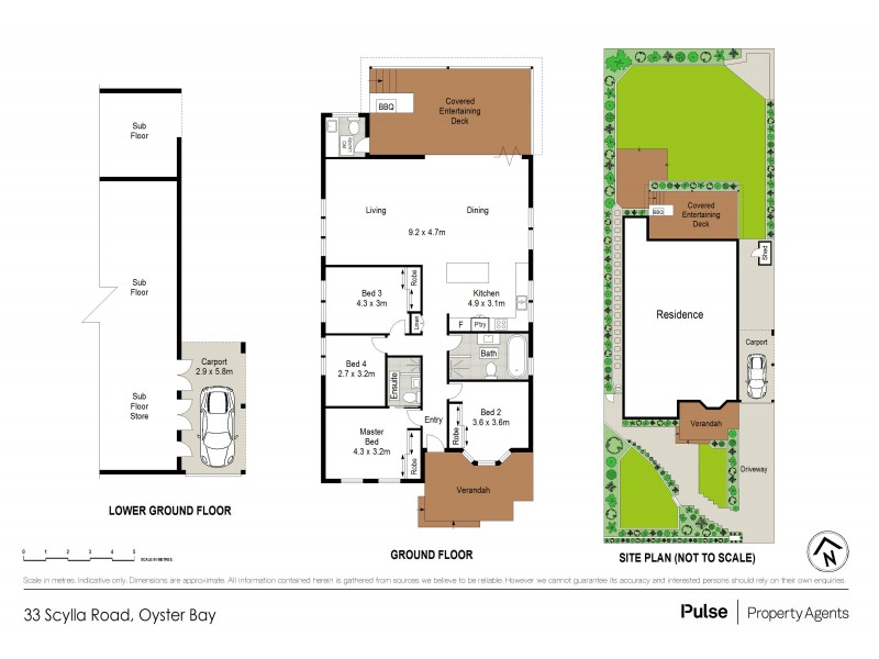 33 Scylla Road, Oyster Bay NSW 2225 Floorplan