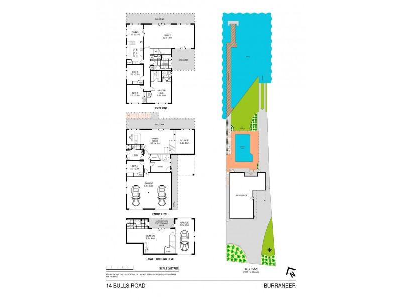 14 Bulls Road, Burraneer NSW 2230 Floorplan