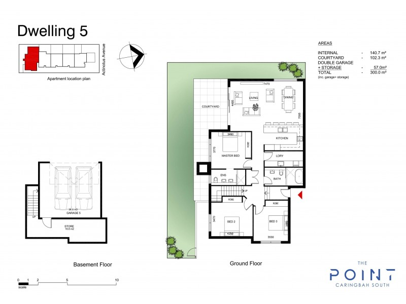5/2 Actinotus Avenue, Caringbah South NSW 2229 Floorplan