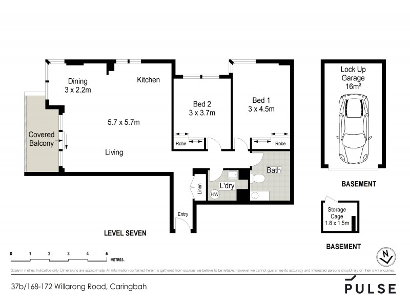 37B/168-172 Willarong Road, Caringbah NSW 2229 Floorplan