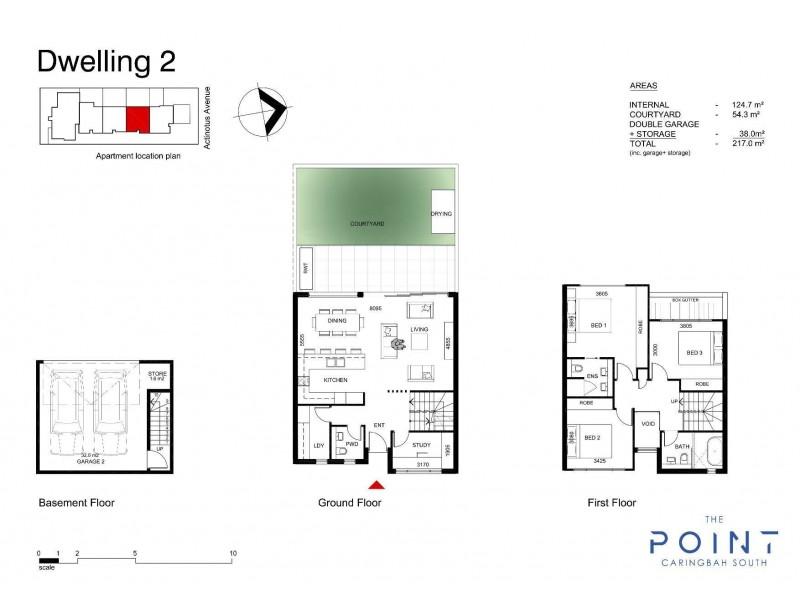 2/2 Actinotus Avenue, Caringbah South NSW 2229 Floorplan