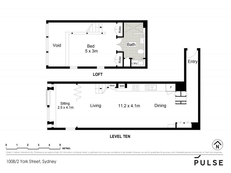 2 York Street, Sydney NSW 2000 Floorplan