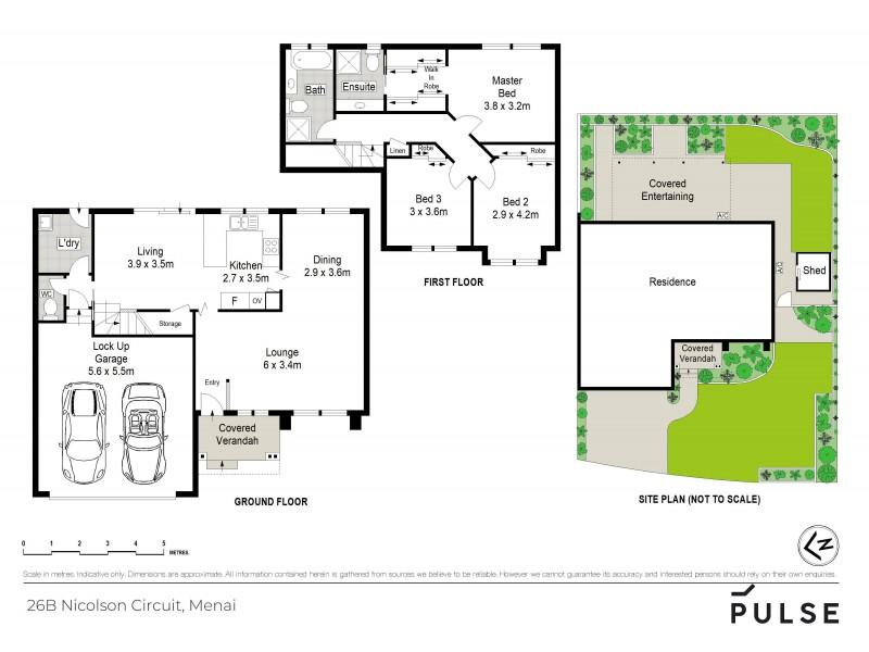 26b Nicolson Circuit, Menai NSW 2234 Floorplan