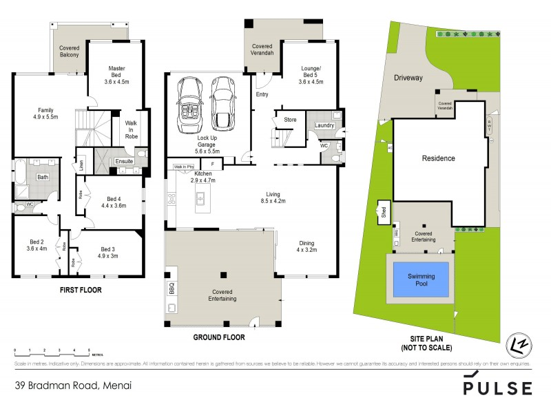 39 Bradman Road, Menai NSW 2234 Floorplan
