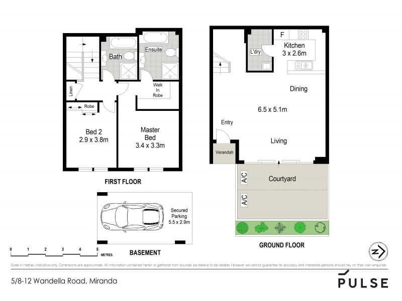 5/8-12 Wandella Road, Miranda NSW 2228 Floorplan