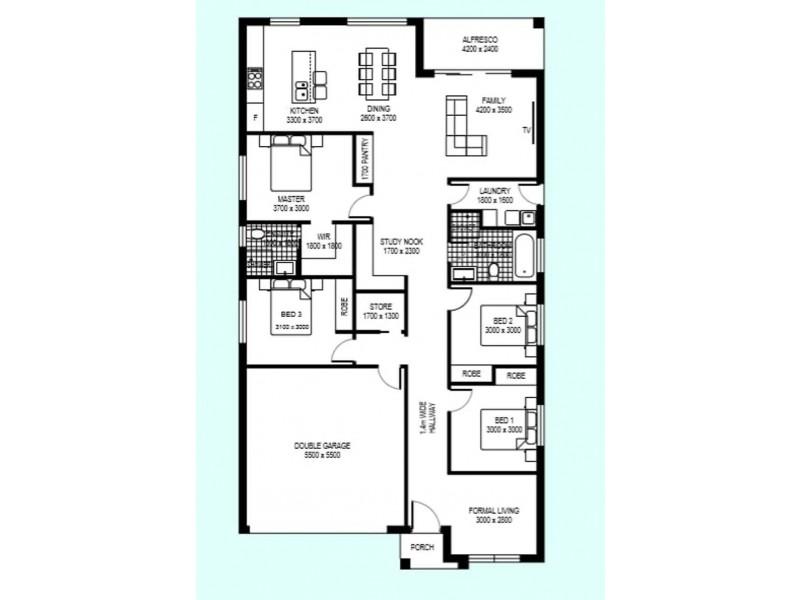 Lot 107 103 Kensington Park Road, Schofields NSW 2762 Floorplan