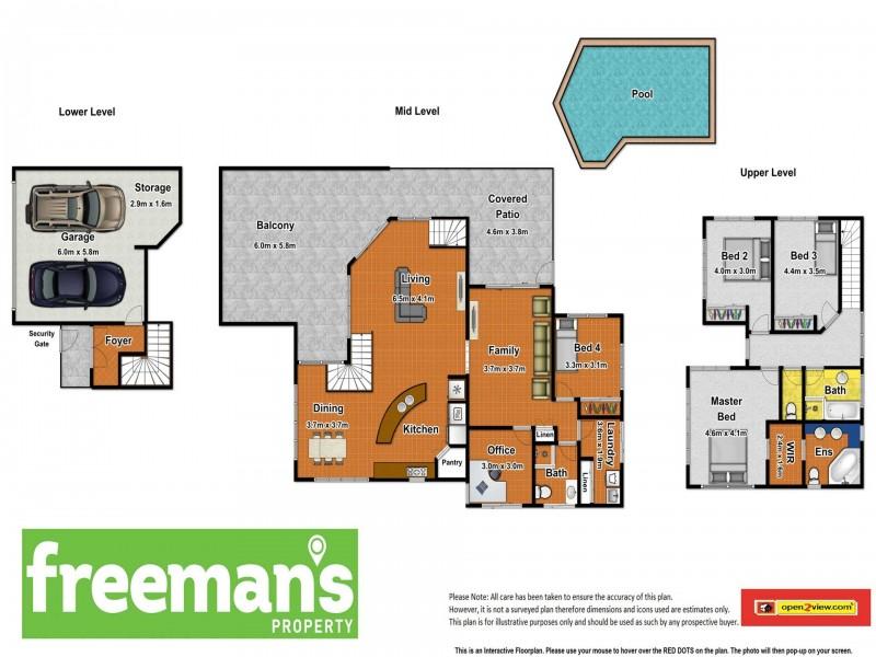 51 Robson Street, Mooroobool QLD 4870 Floorplan