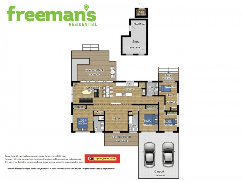 16 Forum Close, Mooroobool QLD 4870 Floorplan