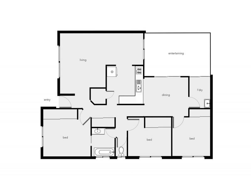 12 Silky Oak Court, Mooroobool QLD 4870 Floorplan