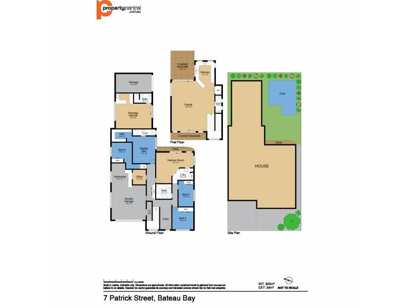 7 Patrick Street, Bateau Bay NSW 2261 Floorplan