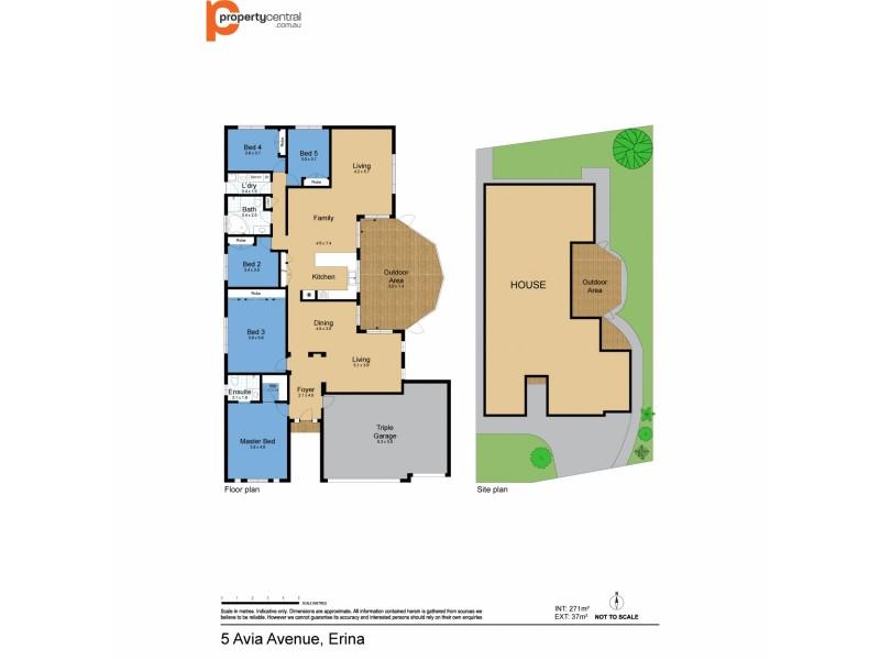 5 Avia Avenue, Erina NSW 2250 Floorplan