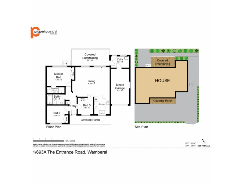 693a The Entrance Road, Wamberal NSW 2260 Floorplan