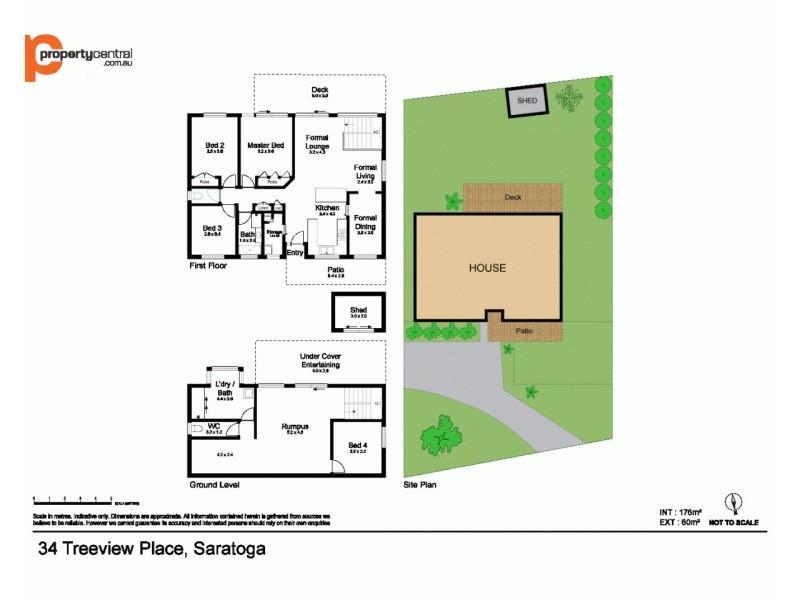 34 Treeview Place, Saratoga NSW 2251 Floorplan