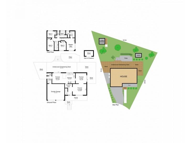 11 Blue Wren Close, Green Point NSW 2251 Floorplan