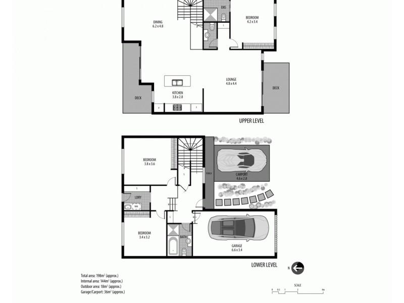 3/11 White Street, East Gosford NSW 2250 Floorplan