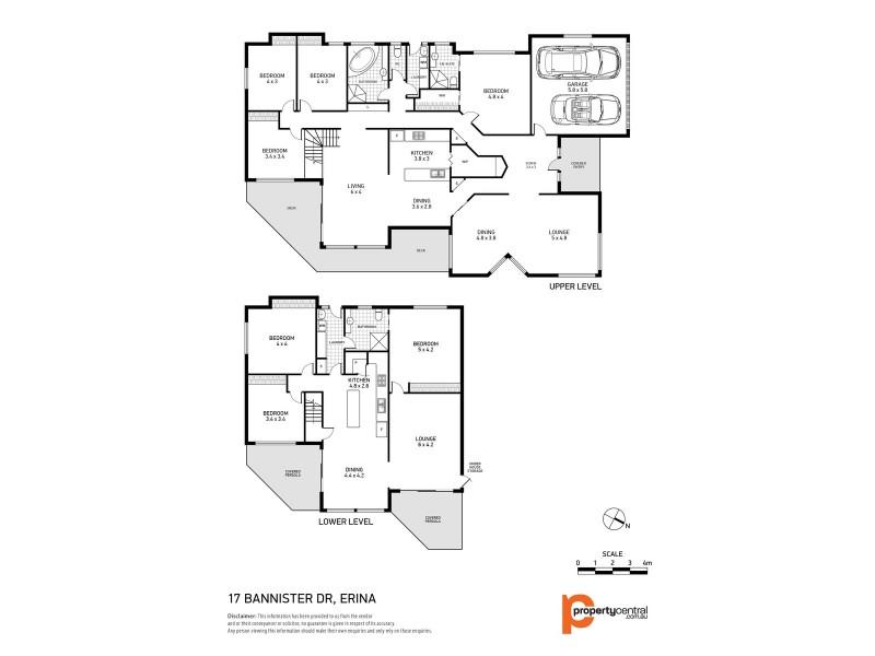 17 Bannister Drive, Erina NSW 2250 Floorplan