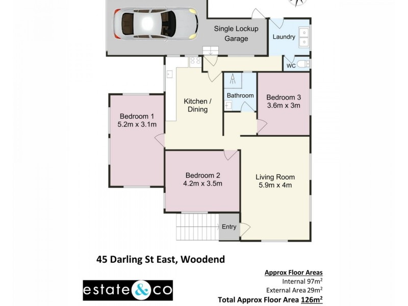 45 Darling Street, Woodend QLD 4305 Floorplan
