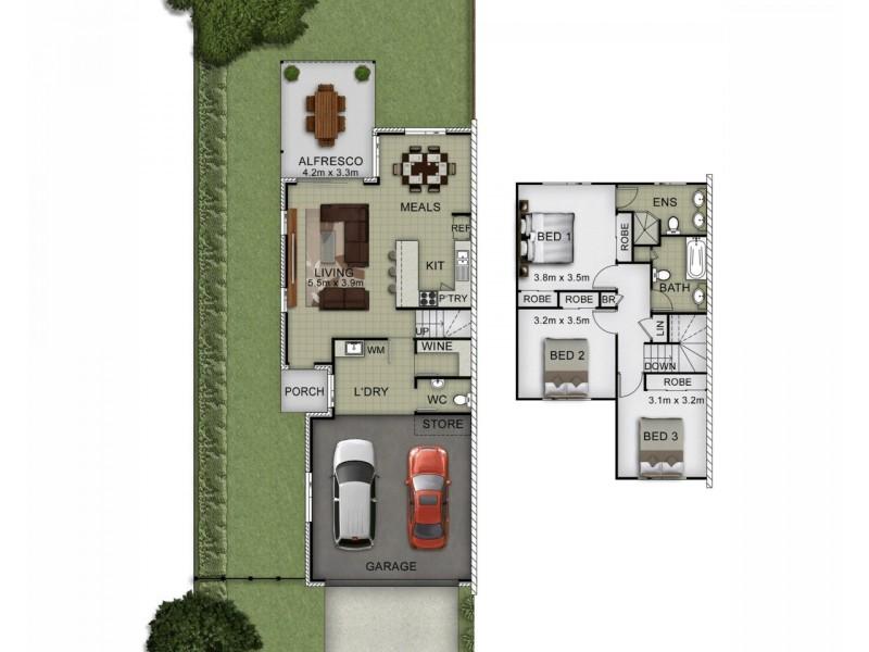 80 Cintra Street, Durack QLD 4077 Floorplan