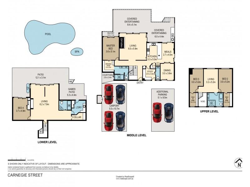 49 Carnegie Street, Westlake QLD 4074 Floorplan