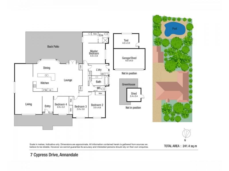 7 Cypress Drive, Annandale QLD 4814 Floorplan