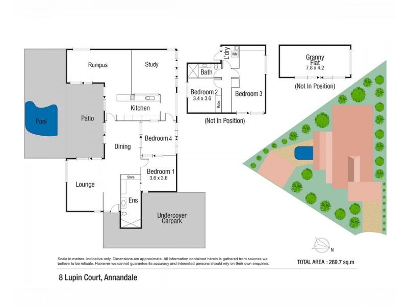 8 Lupin Court, Annandale QLD 4814 Floorplan