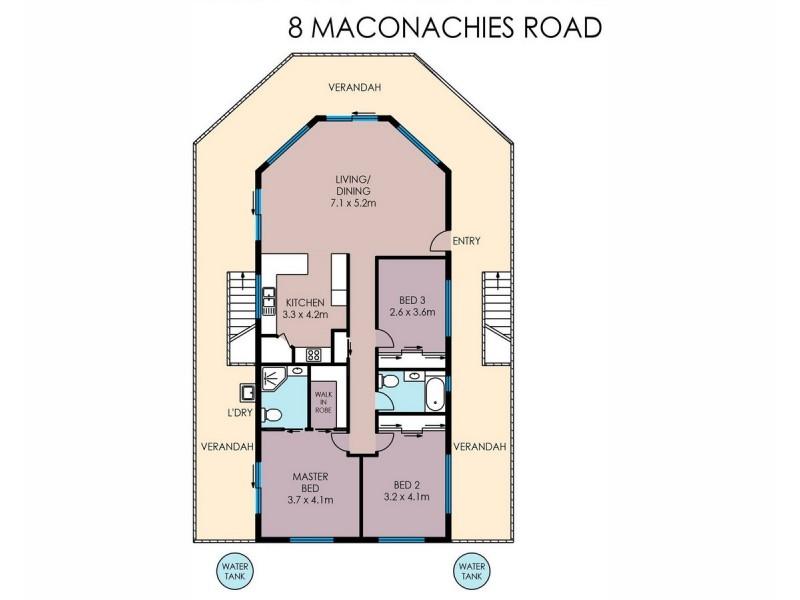 8 Maconachies Road, Majors Creek QLD 4816