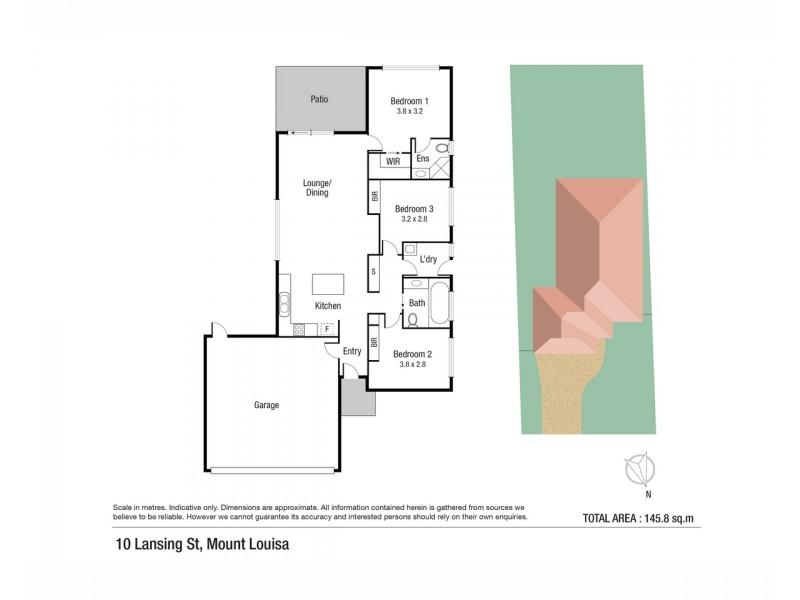 10 Lansing Street, Mount Louisa QLD 4814 Floorplan