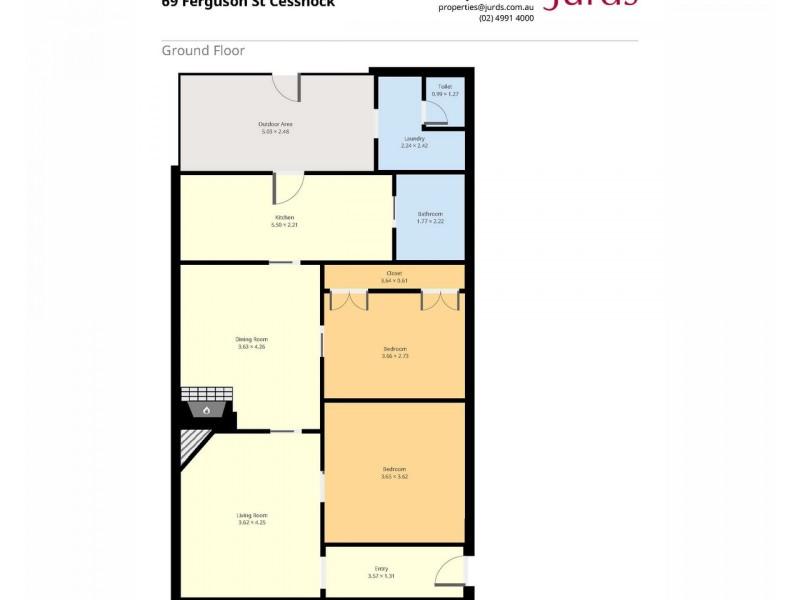 69 Ferguson Street, Cessnock NSW 2325 Floorplan