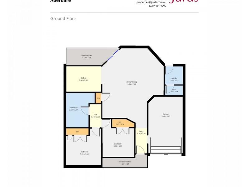 11/66-68 Greta Street, Aberdare NSW 2325 Floorplan
